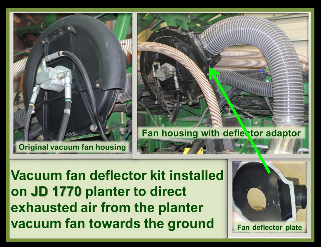 Figure 6 - Deflector kit