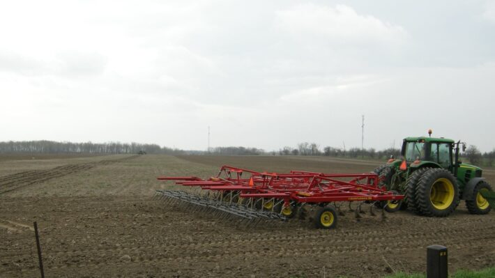 Tillage Cultivator Corn